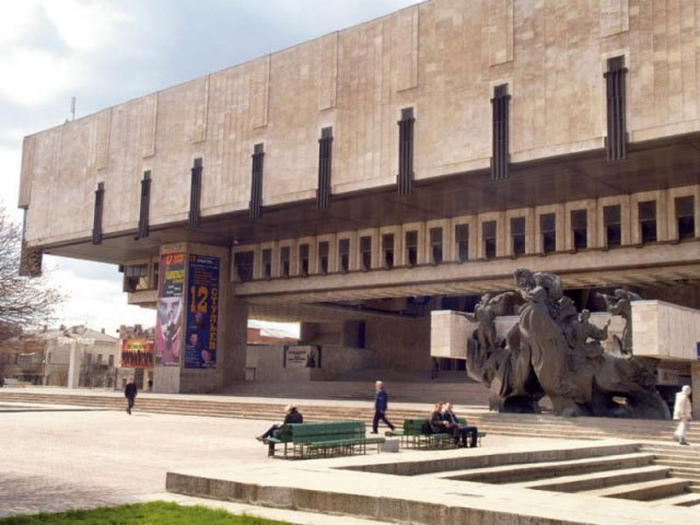 M. Lysenko Kharkiv Academic Opera and Ballet Theatre. There are many performance, concerts are conducted in this place.