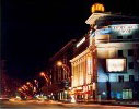 Night Kharkov is very beautiful.