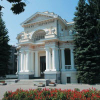 This is central Wedding Palace which is located on the main street in Kharkov (Sumskaya street)