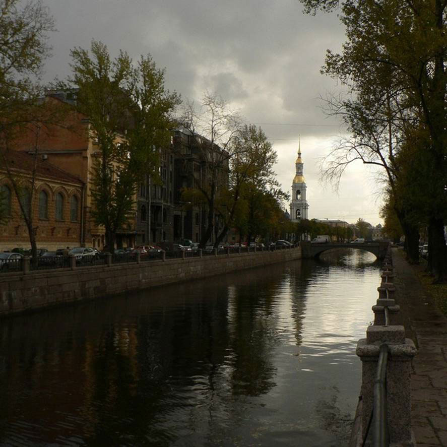 This is river ( Kharkov) which is located in our city. It follows along the whole city and you can see river tram there.